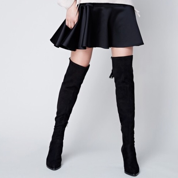 410a9275b55 Marc Fisher Alinda Over the Knee Suede Boots. M 5abeee308af1c58058988f15